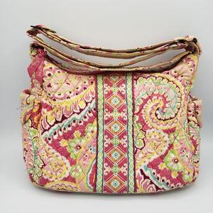 3/$20Vera Bradley pink pastel paisley shoulder bag